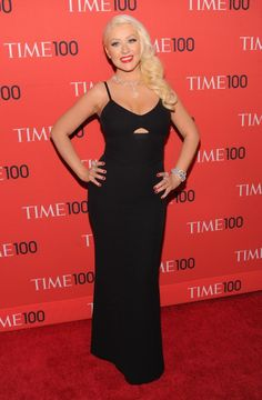 CHRISTINA AGUILERA at 2013 Time 100 Gala in New York