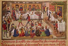 Miniatures et enluminures. Le Livre des Conquestes et Faits d'Alexandre, milieu 15e siècle. Anonyme