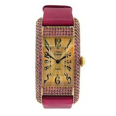 1stdibs - CHARLES OUDIN Paris Ladies Ruby Gold Watch explore items from 1,700  global dealers at 1stdibs.com
