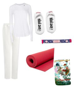 """hatha yoga set"" by dixielarouge on Polyvore featuring Sweaty Betty, prAna and Peace Love World"