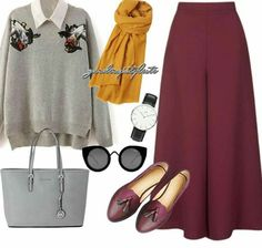 The sixties style Modest Dresses, Modest Outfits, Skirt Outfits, Cute Outfits, Casual Hijab Outfit, Hijab Chic, Elegant Outfit, Muslim Fashion, Modest Fashion