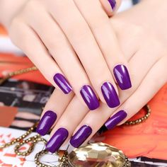 Find More Stickers & Decals Information about New fashion Stylish  violet pure color  nail wraps beauty french guides nail art sticker,High Quality stickers nail art,China stickers snow Suppliers, Cheap art sconce from shinning girl on Aliexpress.com