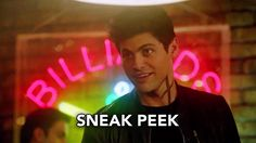 """If you can't find the one being hustled at a pool hall, then it's probably you ...  "" ...  From season 2 episode 6 of Shadowhunters ... alexander 'alec' lightwood, malec, magnus bane, the mortal instruments, shadowhunters, malec, matthew daddario, harry shum jr"