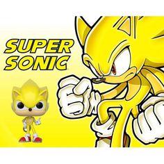 Figurine Funko Pop Games Sonic Super Sonic Edition Limitée geek sui... Funko Pop, Game Sonic, Bd Comics, Pop Games, Manga, Pikachu, Geek Stuff, Fictional Characters, Video Games