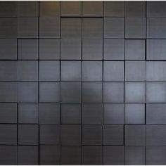 Create custom headboard or accent wall in your living space by selecting this Retro Art Harmony Cubes Dark Okasha PVC Wall Panel. Leather Wall Panels, Pvc Wall Panels, Brick Design, Wall Design, House Design, Renovation Hardware, Custom Headboard, 3d Wall Decor, Focal Wall