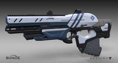 ArtStation - Destiny - The Taken King : Exotic Scout Rifle, Matt Lichy