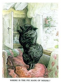 Duchess searching for the mouse pie  from The Tale of the Pie and the Patty-Pan