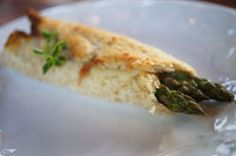 Heeman's Asparagus Wrap Recipe. Asparagus wrappd in proscuitto, cheese and seasoned with your favorite herb in oven or BBQ'd.