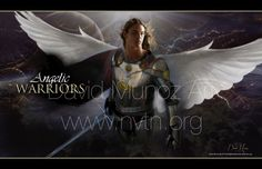 ❥ ANGELIC WARRIORS Angels from heaven sent to fight and help, to minister. Angels among us with a sword and a song. They know us and we know them.