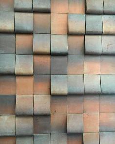 At the Shigaraki tile factory /  /  /  #terracottatiles #shigaraki #sculpturaltile