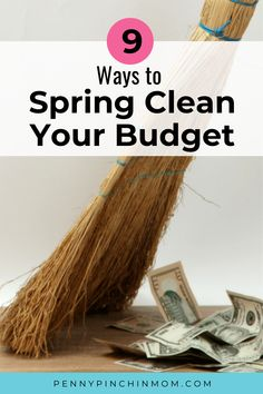 Many of you have a spring cleaning ritual.  It is the time of the year when you wash the windows, air out the bedding and declutter.  However, have you ever thought about checking your budget? #SpringCleaning #Budget
