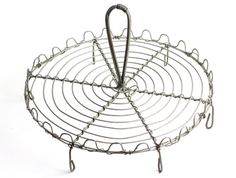 #French #Wire Cooling Rack  Large #Wirework Cake Display by CrolAndCo, $145.00