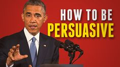 [VIDEO] How To Be Persuasive (When You NEED People to Change) - Barack Obama Charisma Breakdown #PublicSpeaking #Persuasion #Speech #Tips #Video #Charisma https://youtu.be/H3aWbte8DxU