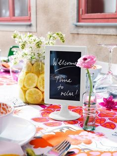 There& no match for the ingenuity of a creative bride with a tiny budget. That& when you get brilliant solutions, like the ten included in this post that use common IKEA marketplace finds to create beautiful DIY wedding details. Ikea Wedding, Wedding Tips, Wedding Table, Wedding Details, Diy Wedding, Wedding Planning, Wedding Hacks, Budget Wedding, Event Planning