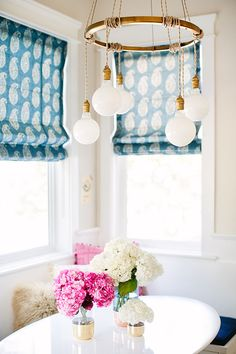 creative light fixture!