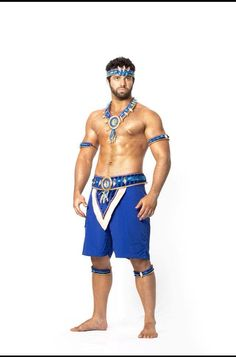 Trinidad Carnival 2015 Bliss Aether section male costume