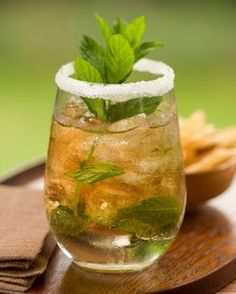 summer is here - honey lime & mint iced tea
