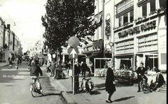 De Herestraat Groningen in 1965    foto:serc.nl