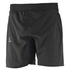 1d7a7bf8b62 Pantaloneta corta para trail running Fast Wing Twinskin Short de Salomon en  color negro para hombre