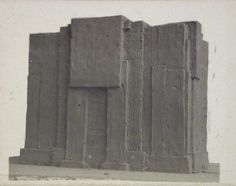 Finding the form of a blunt massive volume, VKhUTEMAS 1920-1926