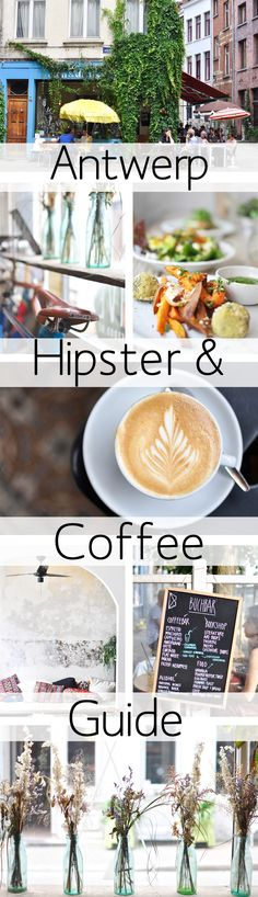 With this Antwerp Coffee & Hipster Guide you'll be able to visit a lot of recommended coffee places in Antwerp within one day. The Places Youll Go, Places To Go, Holland, Hipster Coffee, Coffee Guide, Antwerp Belgium, Destinations, Coffee Benefits, Coffee Travel