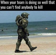 When Your Team Is Doing So Well That You Can't Find Anybody To Kill - Funny Memes. The Funniest Memes worldwide for Birthdays, School, Cats, and Dank Memes - Meme Video Game Logic, Video Games Funny, Funny Games, Gamer Humor, Gaming Memes, New Memes, Dankest Memes, Overwatch, Carrie