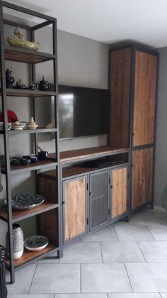 House Furniture Design, Diy Furniture Couch, Furniture Plans, Interior Design Living Room, Welded Furniture, Steel Furniture, Industrial Style Furniture, Rustic Furniture, High Quality Furniture