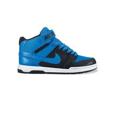 Nike Mogan Mid 2 Jr. Kids' Mid-Top Skate Shoes, Kids Unisex, Size: 6, Blue