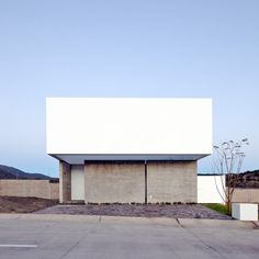 Abraham Cota Paredes completes introspective white house