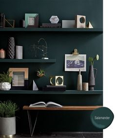 We've gathered our favorite swatches from a year's worth of hue-happy rooms. See the top paint colors for 2016.