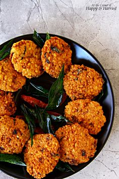 Masala Vada{Spicy Lentil Fritters}.