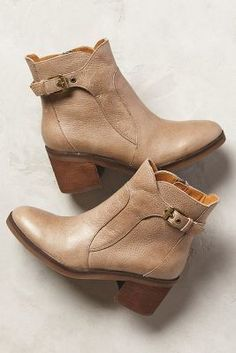 Anthropologie Latigo Angostina Booties Neutral 6.5 Boots on shopstyle.com