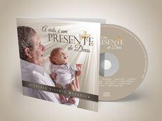 Capa do Novo CD Ap. Vicente Mesquita  projeto desenvolvido pela Melancia