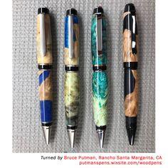 Woodturning Pen Kit Spares Finished Barrels Blanks//Tubes to fit CIGAR pen kits