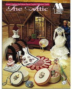 The Attic Annie's Fashion Doll Home Decor by grammysyarngarden, $12.00