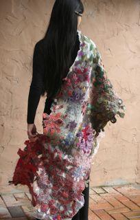 Sachiko Kotaka  felt wrap