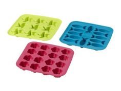 check out the variety of silicon molds at ikea