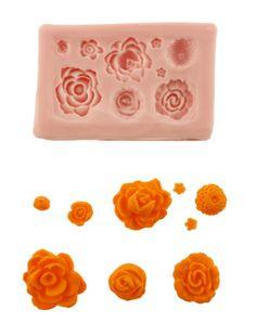 More Roses Silicone Mold - SSA-SM060