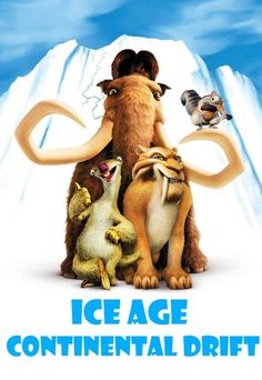 Get Ice Age DVD and Blu-ray release date, trailer, movie poster and movie stats. Everybody Loves Raymond and Parenthood star Ray Romano lends his voice as the lead character in the digitally animated comedy Ice Age. This kid-friendly film is set during. Ice Age Movies, Kid Movies, Family Movies, Cartoon Movies, Great Movies, Disney Movies, Movies And Tv Shows, Movie Tv, Pixar Movies