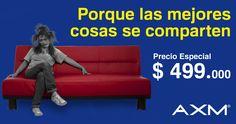 Ideal para compartir #AXM el lugar de la familia #AhíLePago