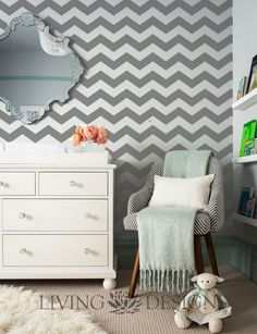 Plantilla Decorativa para el diseño de interiores y pintar paredes como papel tapiz y vinilos decorativos
