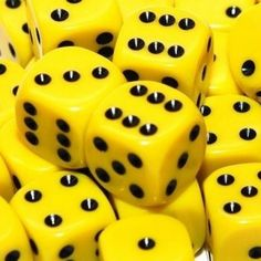yellow.quenalbertini: Yellow dices