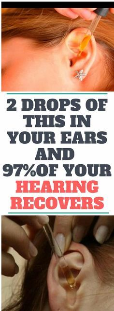 2 DROPS OF THIS IN YOUR EARS AND 97% OF YOUR HEARING RECOVERS! EVEN OLD PEOPLE FROM 80 TO 90 ARE DRIVEN CRAZY BY THIS SIMPLE AND NATURAL REMEDY!!!