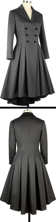 Pleated Swing Coat Chic Star Design by Amber Middaugh and Yuliana Arbona   $79.95 Plus Size $89.95