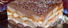 Peach cake without baking - Desserts - Kuchen İdeen Trifle Desserts, No Bake Desserts, Easy Desserts, Baking Desserts, Baking Recipes, Cake Recipes, Best Vegan Desserts, German Baking, Baked Peach