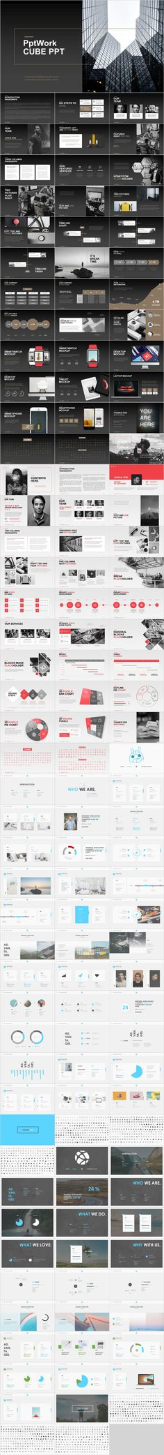 4 in 1 Creative Professional PowerPoint Template Template Web, Powerpoint Design Templates, Professional Powerpoint Templates, Powerpoint Themes, Keynote Template, Web Design, Layout Design, Design Art, Book Presentation