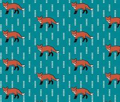 fox fabric