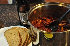 Turkey Chili: This is my husband Ian's famous chili recipe. We like it super spicy!