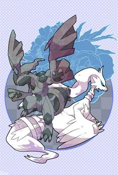Gotta Catch 'Em All! legendary pokemon from black and white and black 2 and white 2