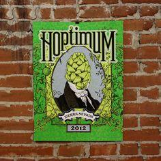 Hoptimum Print  by Nate Duval